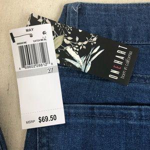 One Hart Juniors Printed Skinny Jeans